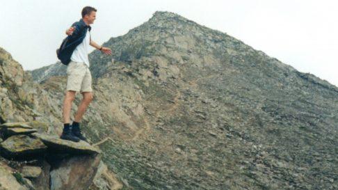 Gipfelbuch Sparrhorn 27 juli 2003